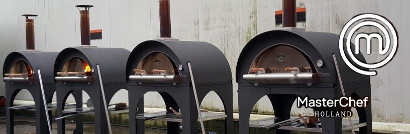 Pizzaoven Clementi Mondo bij Masterchef